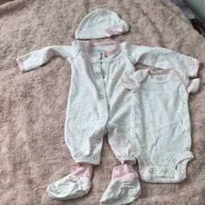 Baby girl Preemie set